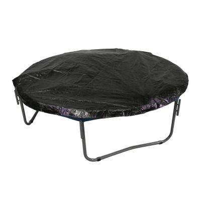 14 ft. Black Trampoline Protection Cover Weather and Rain Cover Fits for 14 ft. Round Trampoline Frames