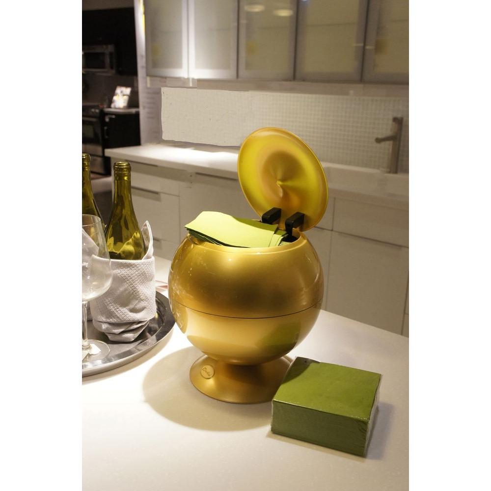 Sensor Apple 360 Degree Gold Touchless Napkin/Tissue Dispenser