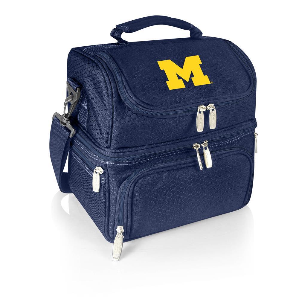 Pranzo Navy Michigan Wolverines Lunch Bag