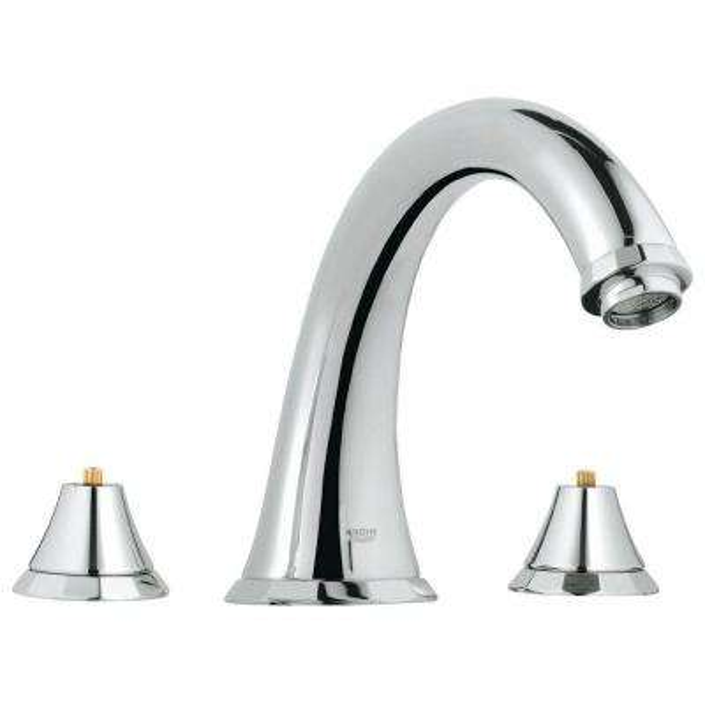 Kensington 2-Handle Deck-Mount Roman Bathtub Faucet in StarLight Chrome