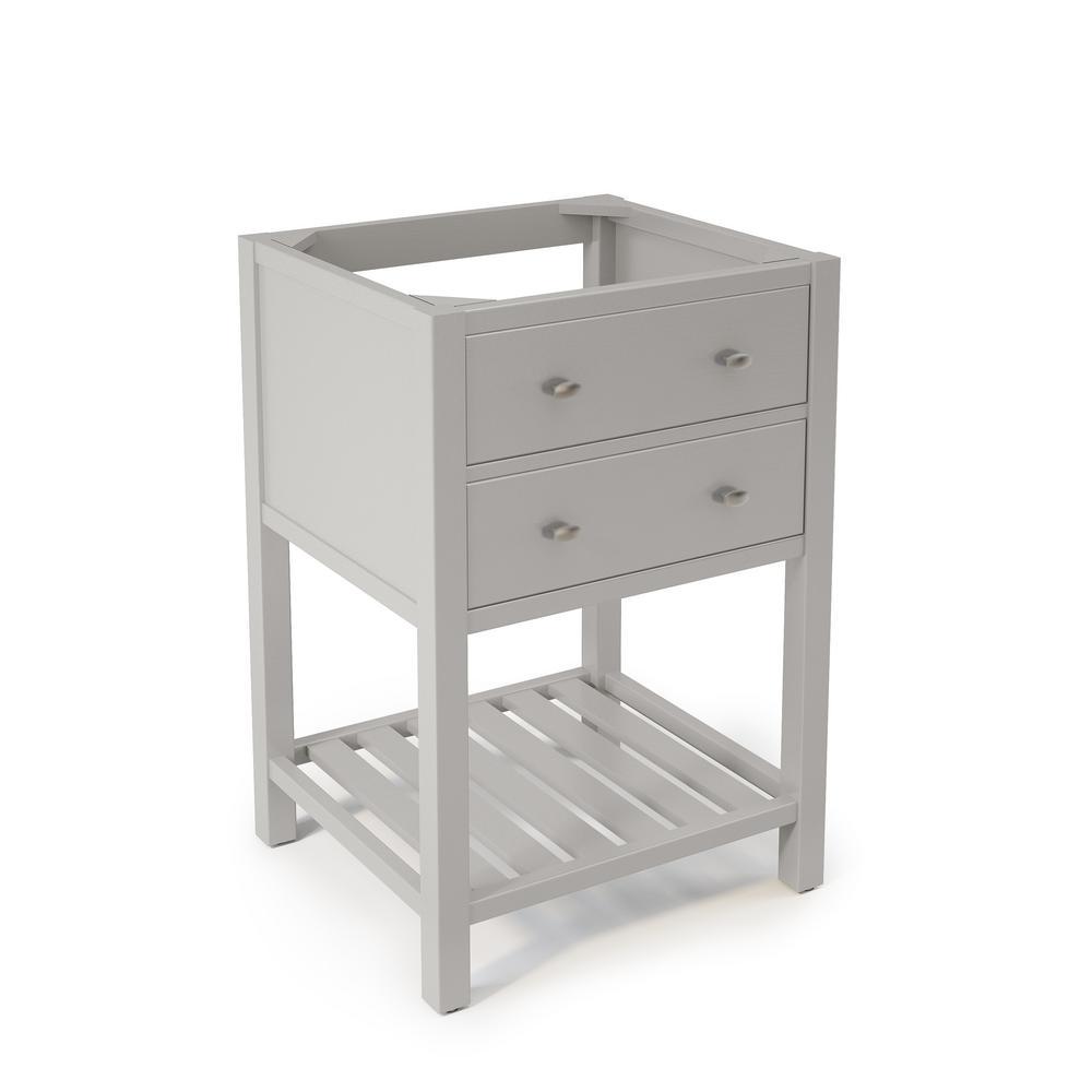 Harrison 23 in. W x 21 in. D Vanity Cabinet in Gray