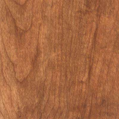 Take Home Sample - Hand Scraped Laurel Cherry Vinyl Plank Flooring - 5 in. x 7 in.