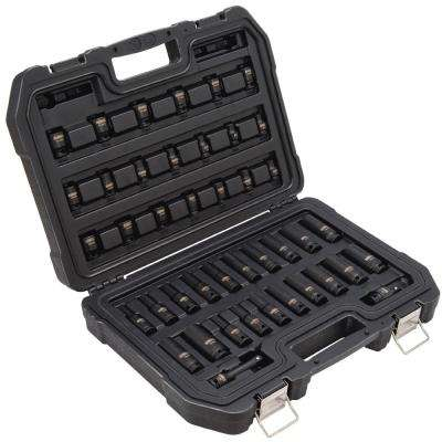 3/8 in. Drive Impact Socket Set (42-Piece)