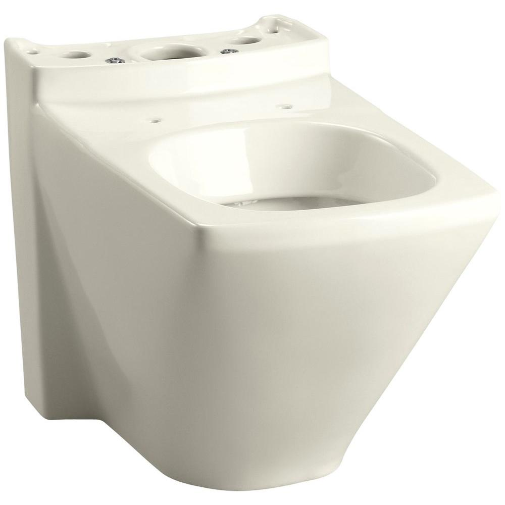 KOHLER Escale Elongated Toilet Bowl Only in Biscuit
