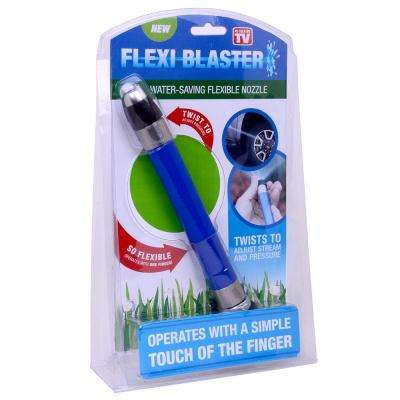Flexiblaster Light Weight, Water Saving and Flexible Hose Nozzle