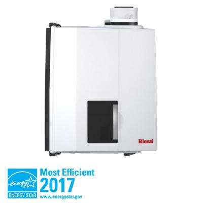 E Series Natural Gas Condensing Boiler/Tankless Water Heater with 50,000 BTU Input