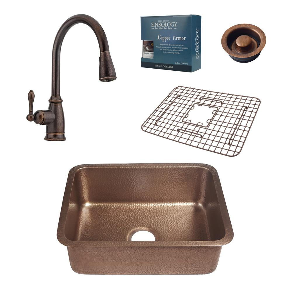 SnappyTrap 1-1/2 in. All-in-One Drain Kit for Single Bowl Kitchen ...