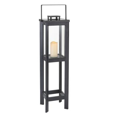 41 in. Medium Size Outdoor Patio Square Arlen Floor Lantern
