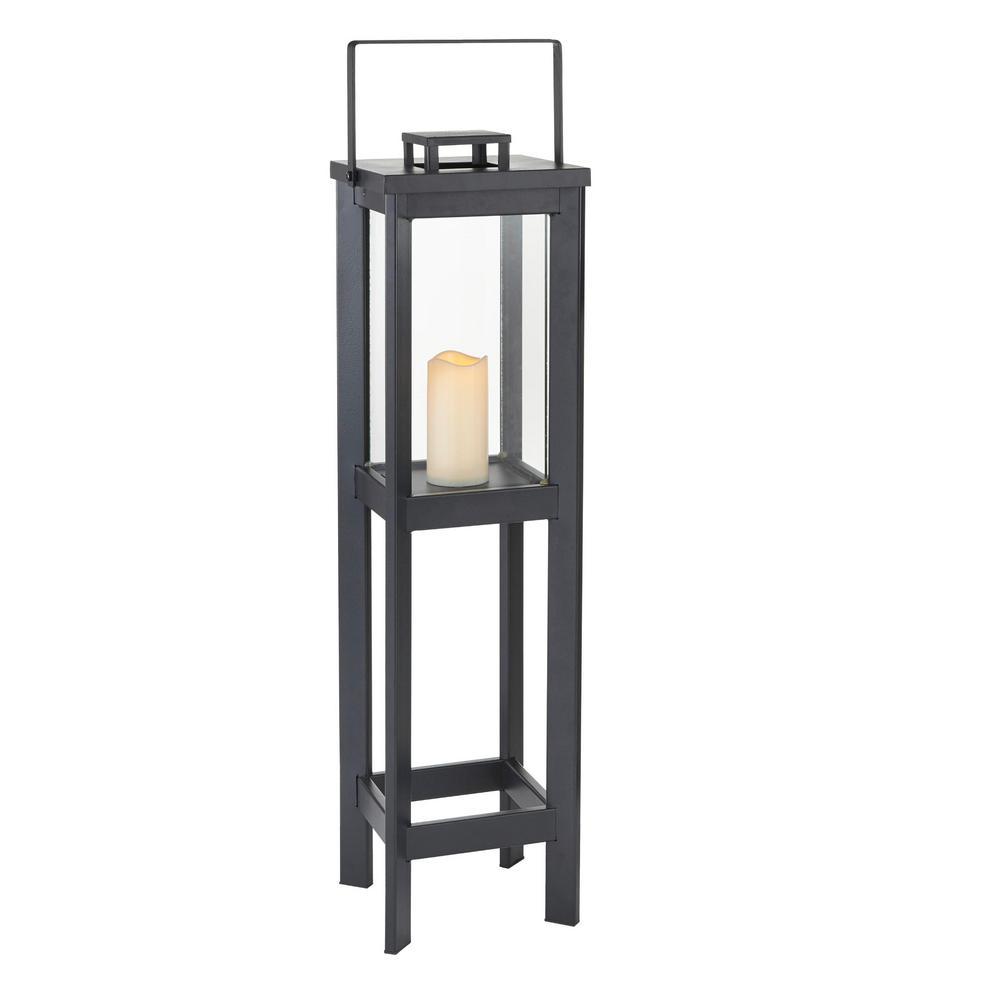 Medium Size Outdoor Square Arlen Floor Lantern