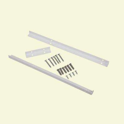 Selectives 14 in. White Metal Shelf Support Kit