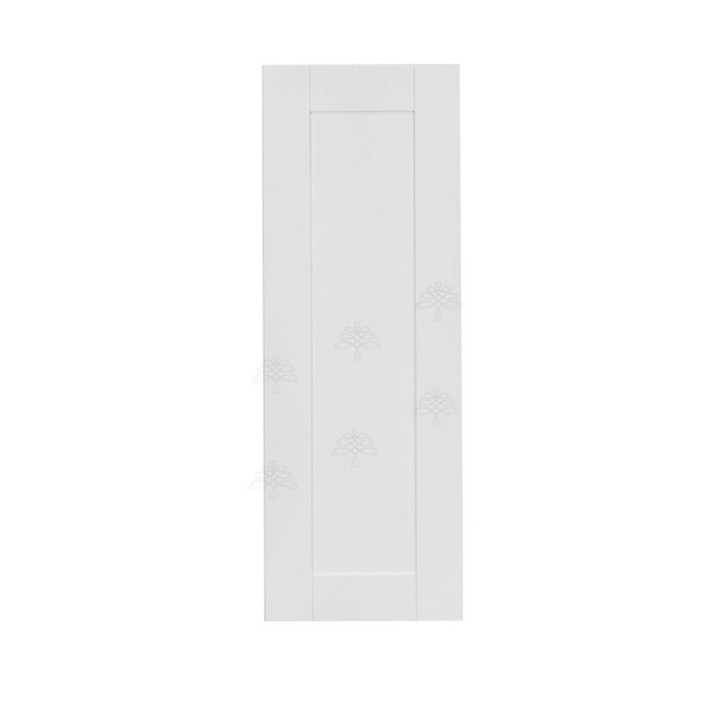Anchester Assembled 12x42x12 in. 1 Door Wall Cabinet with 3 Shelves