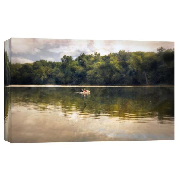 PTM Images 10 in. x 12 in. ''Fishermen '' Printed Canvas