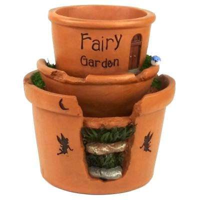 Fairy Garden Polystone Resin Planter