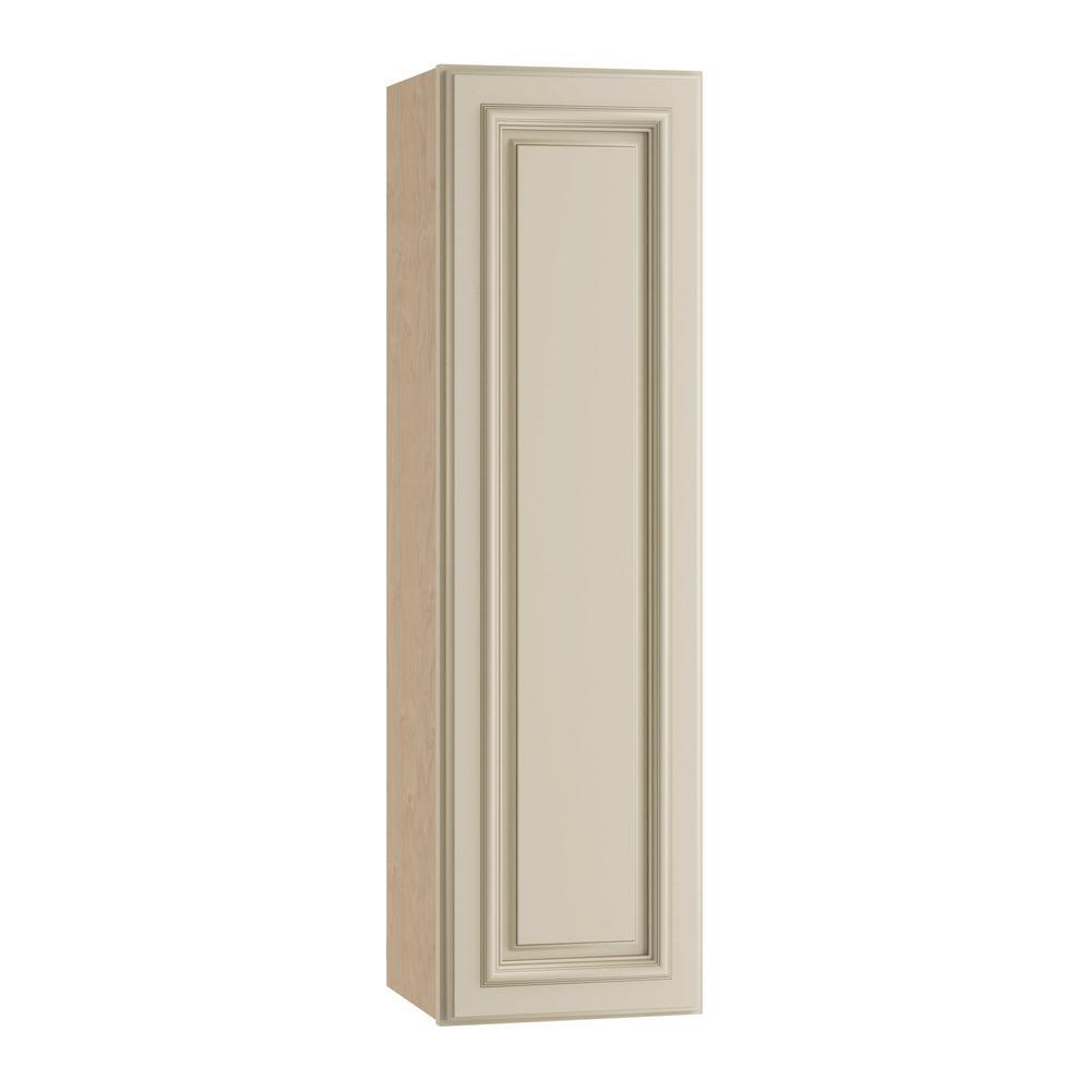 Holden Assembled 9x36x12 in. Single Door Hinge Left Wall Kitchen Cabinet