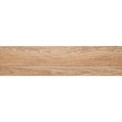 Woodwork Bend Matte 6.5 in. x 39.25 in. Porcelain Floor and Wall Tile (10.62 sq. ft. / case)