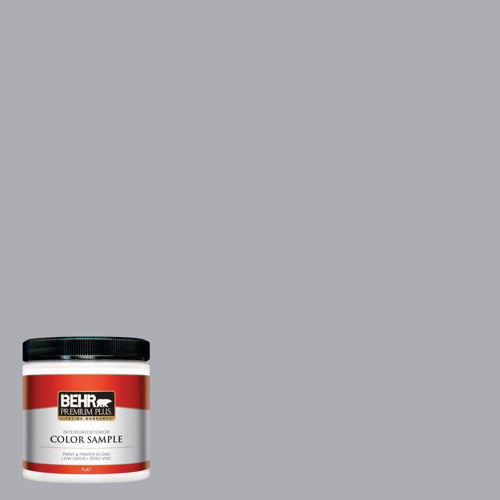 8 oz. #760E-3 Gray Timber Wolf Interior/Exterior Paint Sample