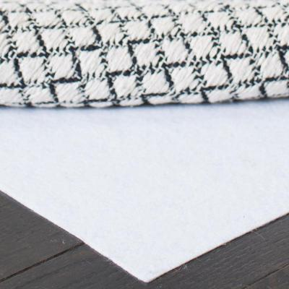 Carpet to Carpet White 4 ft. x 6 ft. Rug Pad