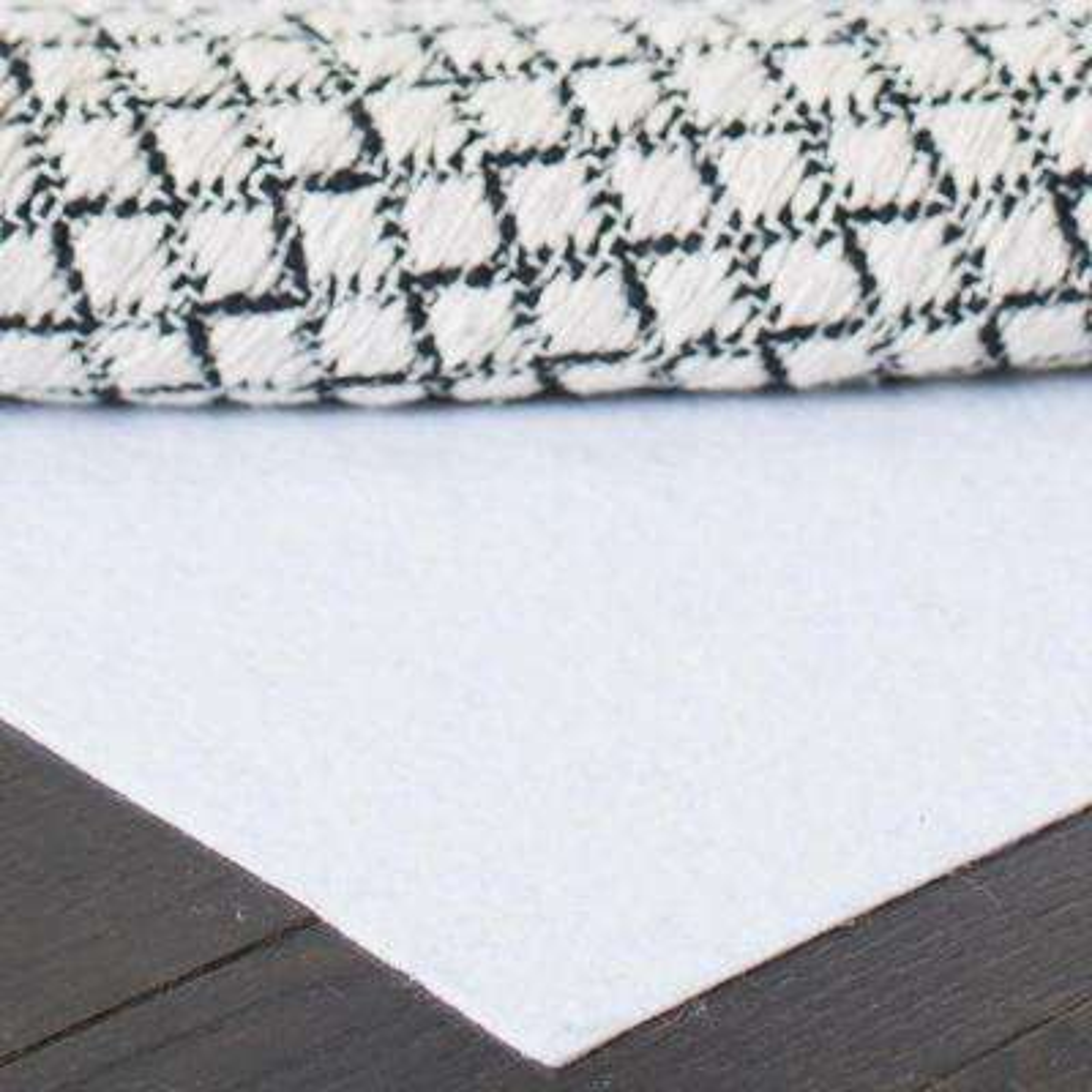 Carpet to Carpet White 8 ft. x 10 ft. Rug Pad