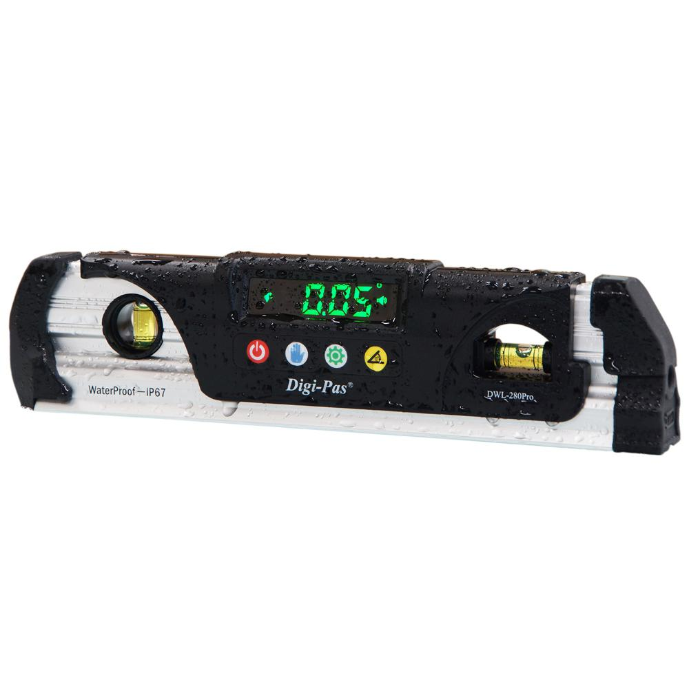 *NEW* Digi-Pas DWL 200 0.1 Degree Torpedo Digital Level/Angle Gauge/Protractor Measuring & Layout Tools Home, Furniture & DIY