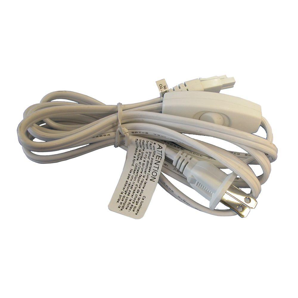 Illume Lighting 6 ft. Power Cord with Switch for Xenon Pucks