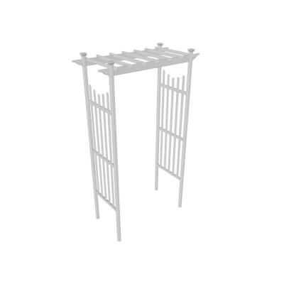 Whites Arbor Trellises Outdoor Decor The Home Depot