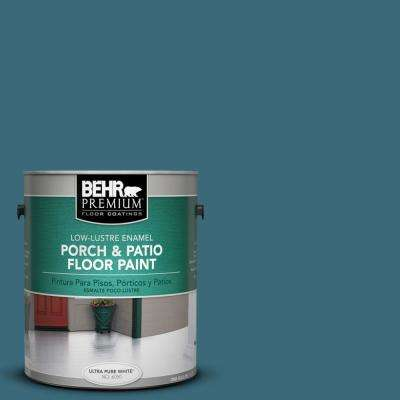 1 gal. #S460-6 Mammoth Mountain Low-Lustre Porch and Patio Floor Paint