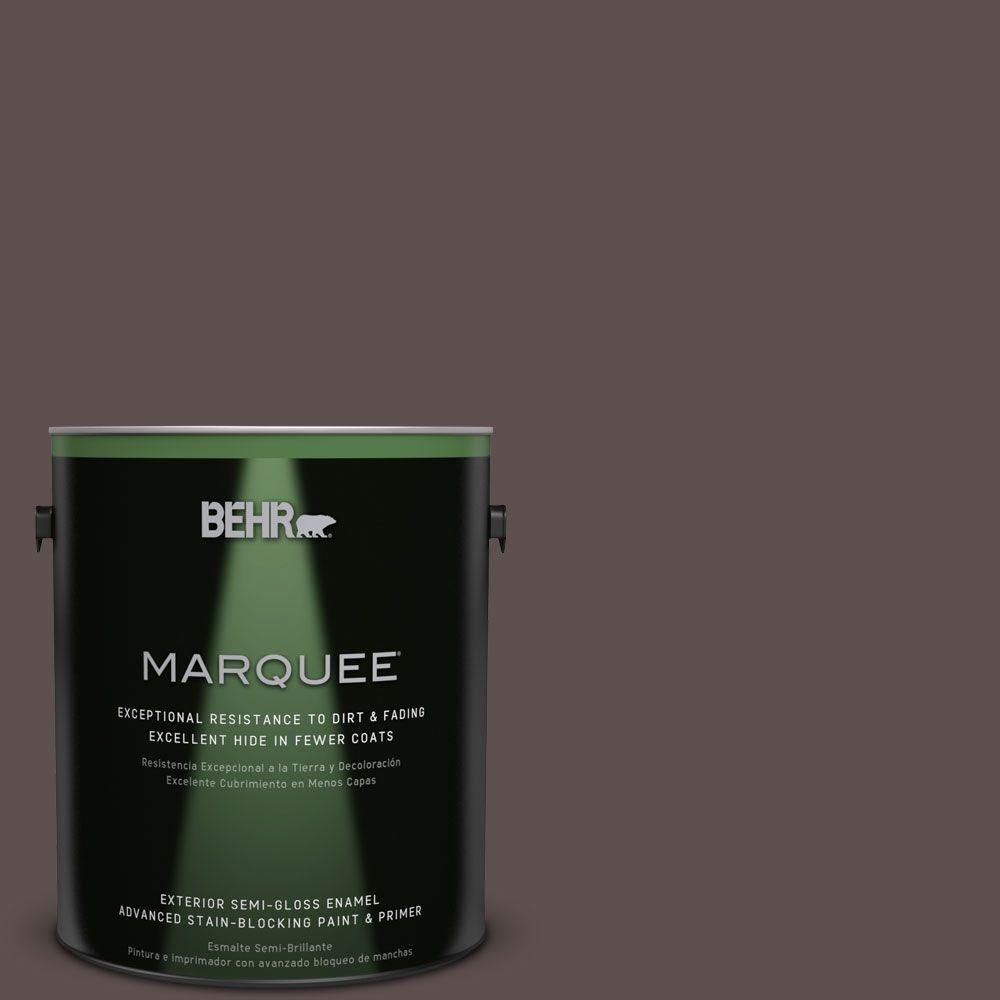 BEHR MARQUEE Home Decorators Collection 1 gal. #HDC-AC-07 Oak Creek Semi-Gloss Enamel Exterior Paint
