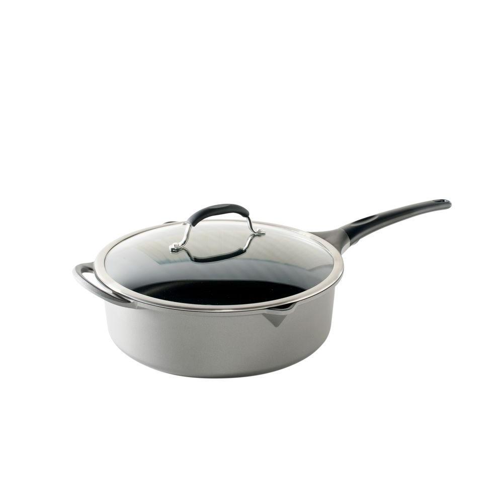 Pro Cast Saute Pan with Lid