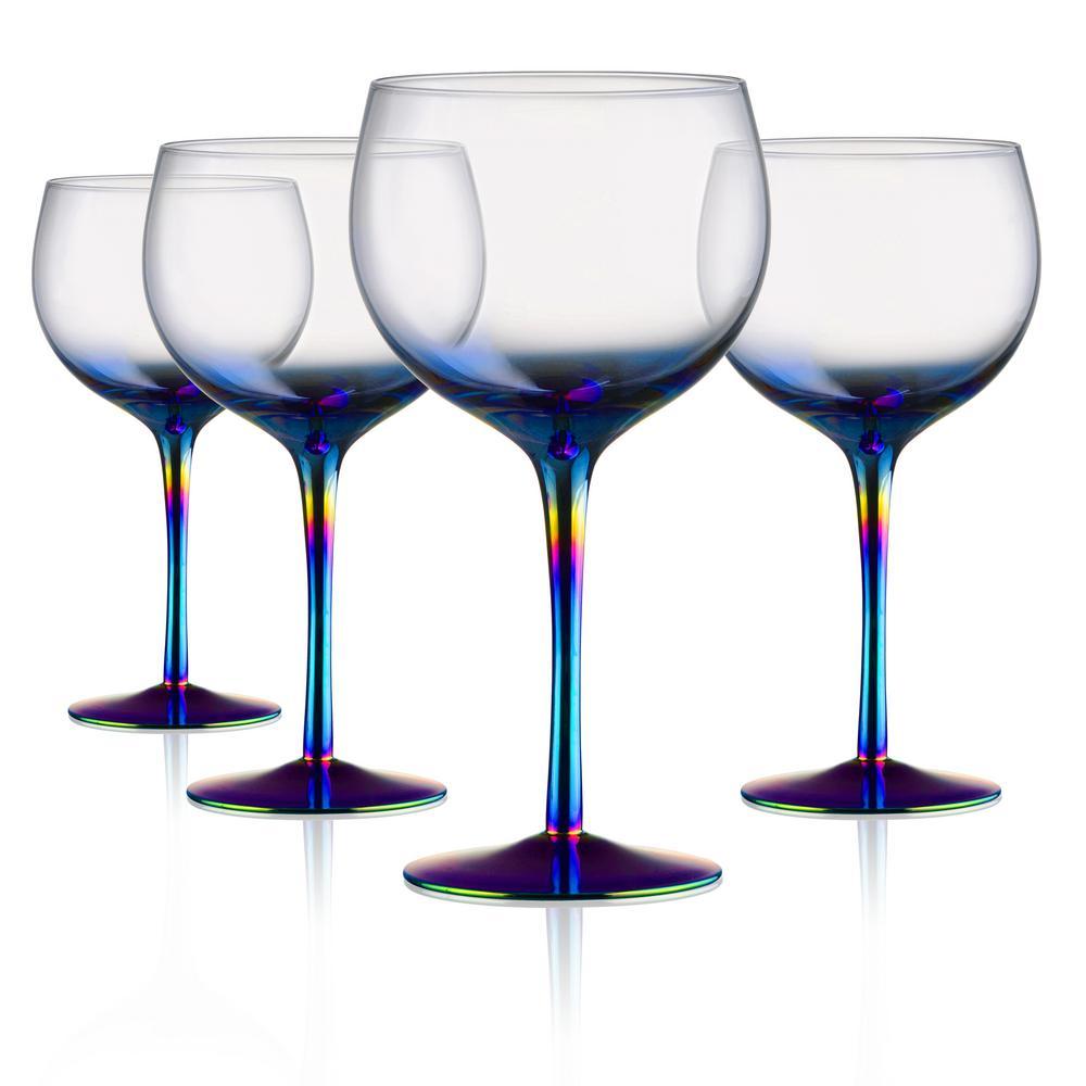 22 oz. Goblet Red Wine Glasses (Set of 4)