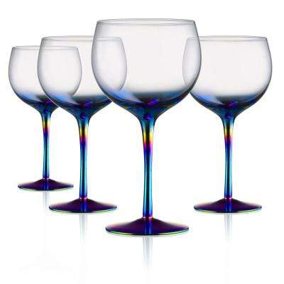 22 oz. Goblet Red Wine Glasses (Set of 4)