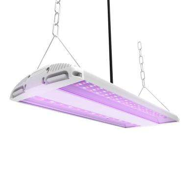 20 in. 175-Watt Integrated Full Spectrum LED Non-Dimmable Indoor High Bay Plant Grow Light Fixture, Daylight (2-Pack)