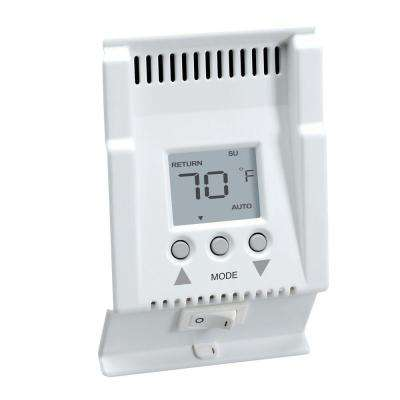cadet no additional items included thermostats heatingCadet Singlepole Electric Baseboardmount Mechanical Thermostat In #14