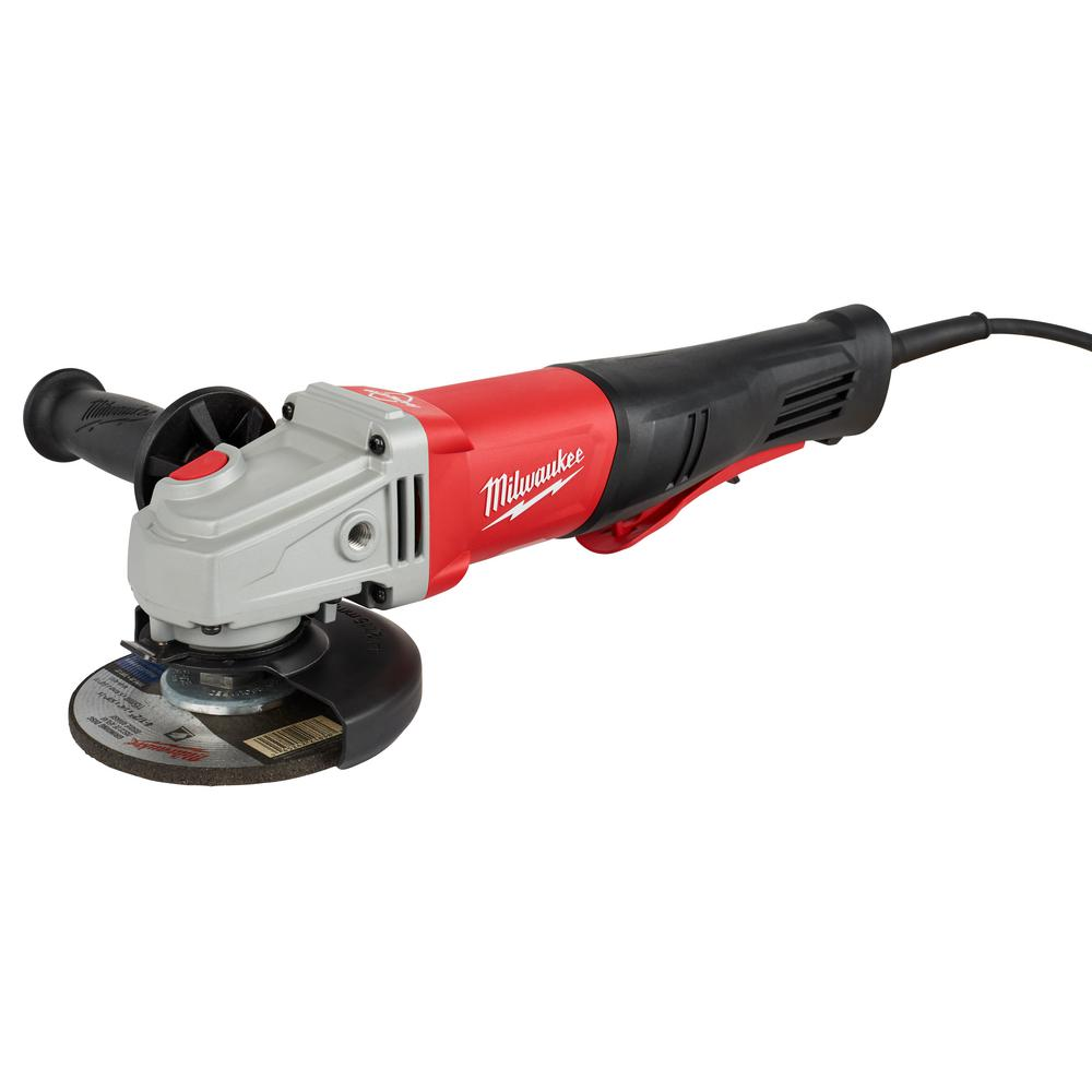 Milwaukee 11 Amp Corded 4-1//2 in or 5 in Braking Small Angle Grinder Paddle