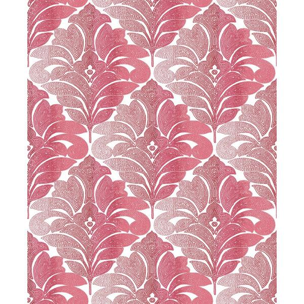 A-Street Balangan Red Damask Wallpaper Sample 2744-24146SAM