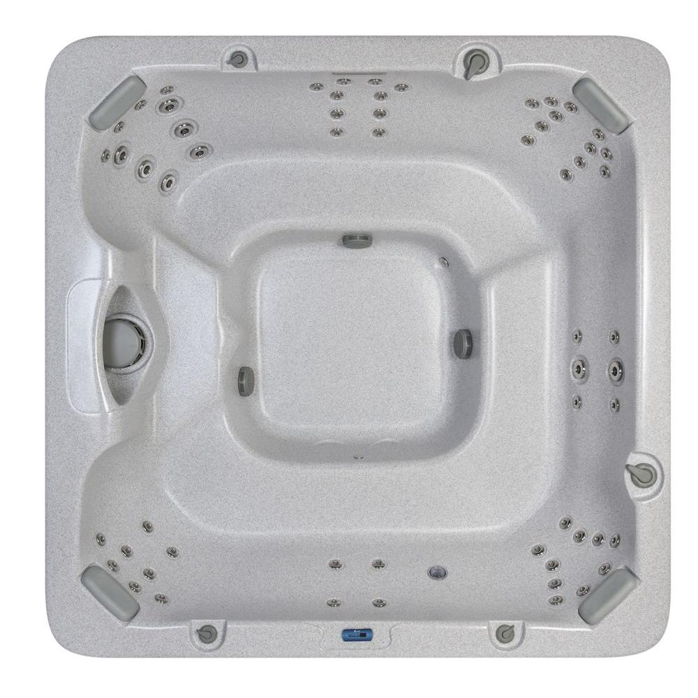 Summit Hot Tubs Banff 8-Person 60-Jet with Open Seating-DISCONTINUED