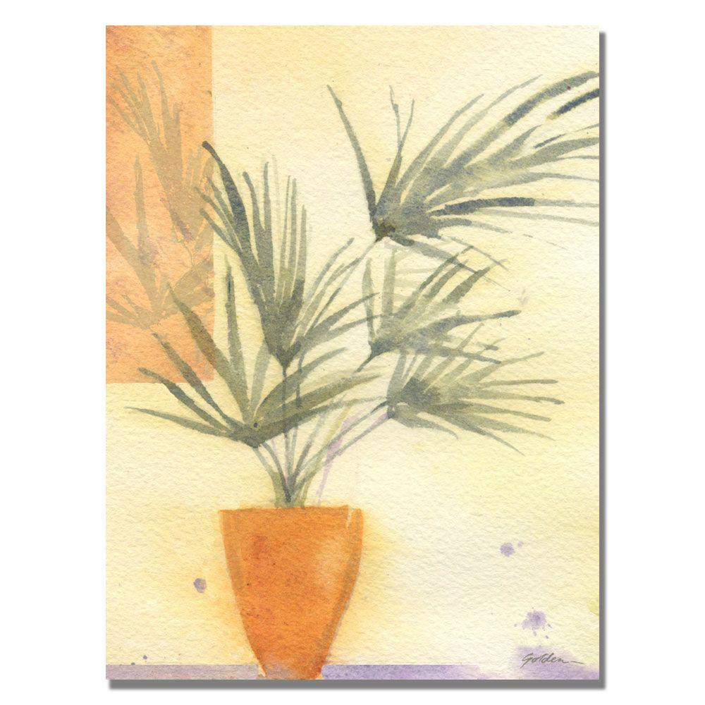 35 in. x 47 in. Palm Canvas Art