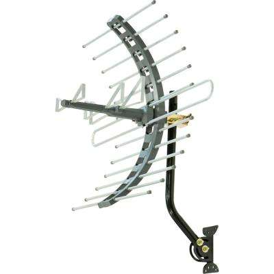 Pro Outdoor/Attic Mount TV Antenna, 70-Mile Range