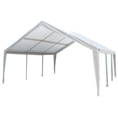 12 ft. W x 20 ft. D Steel Expandable Canopy