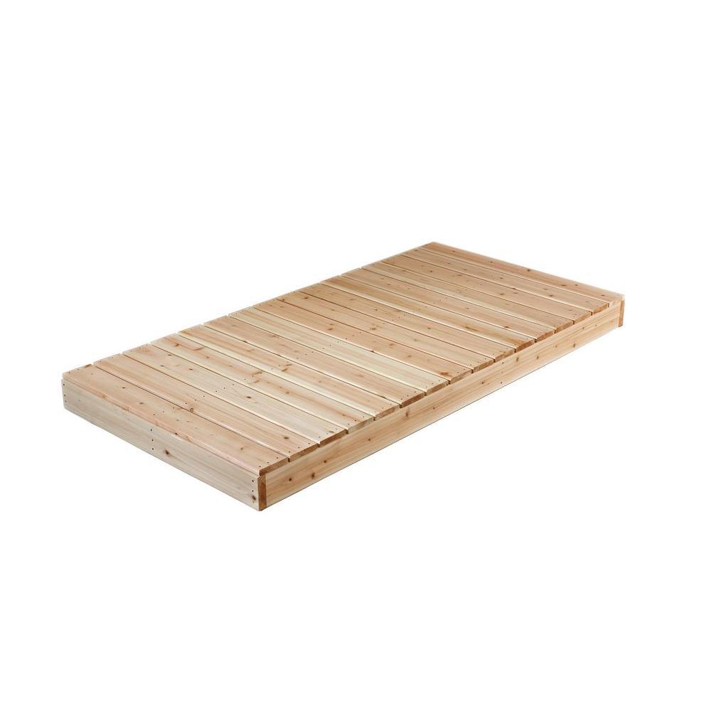 4 ft. x 8 ft. Cedar Dock Kit