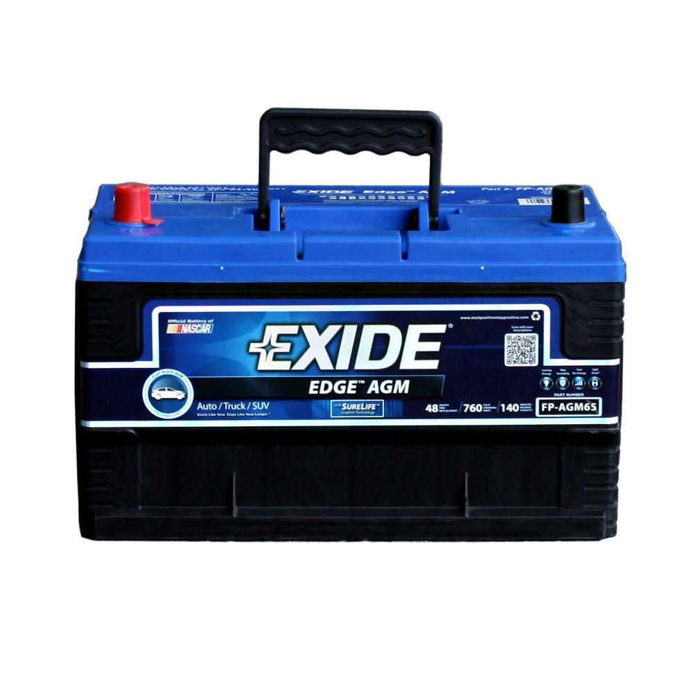 Edge 65 Auto AGM Battery-FP-AGM65DS
