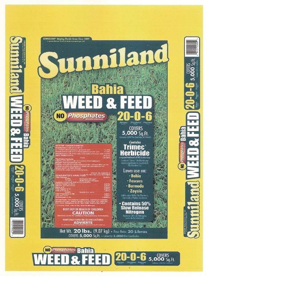 Sunniland 20 lb. Bahia Weed and Feed