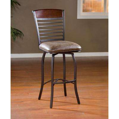 Stefano 30 in. Coco Cushioned Bar Stool