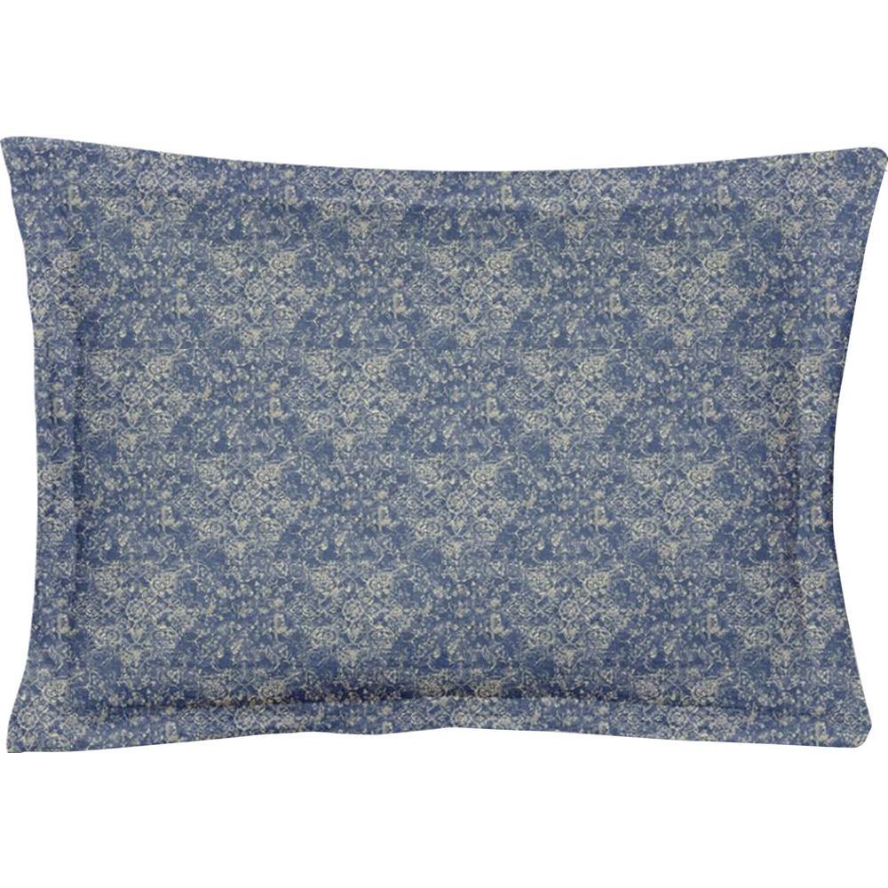 Fiesta Blue Queen Pillow Cover (Set of 2)