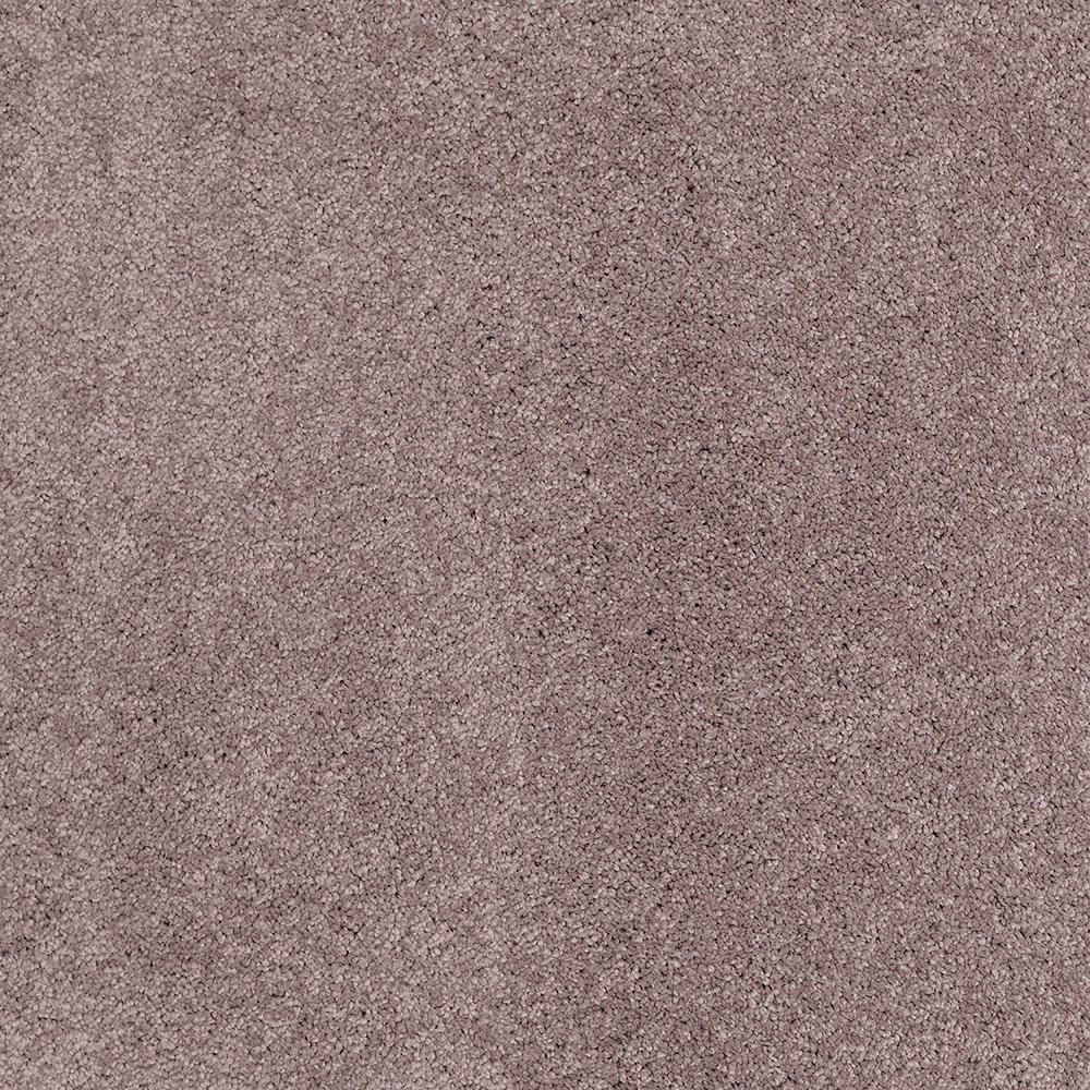 Carpet Sample - Coral Reef II - Color Smoky Amethyst Texture 8 in. x 8 in.