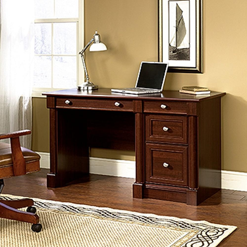 Select Cherry Sauder Desks 64 Palladia Computer Desk Hutch