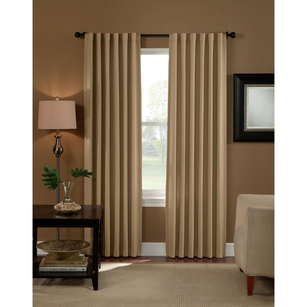 Curtainworks semi opaque saville linen thermal room darkening curtain 1 panel price