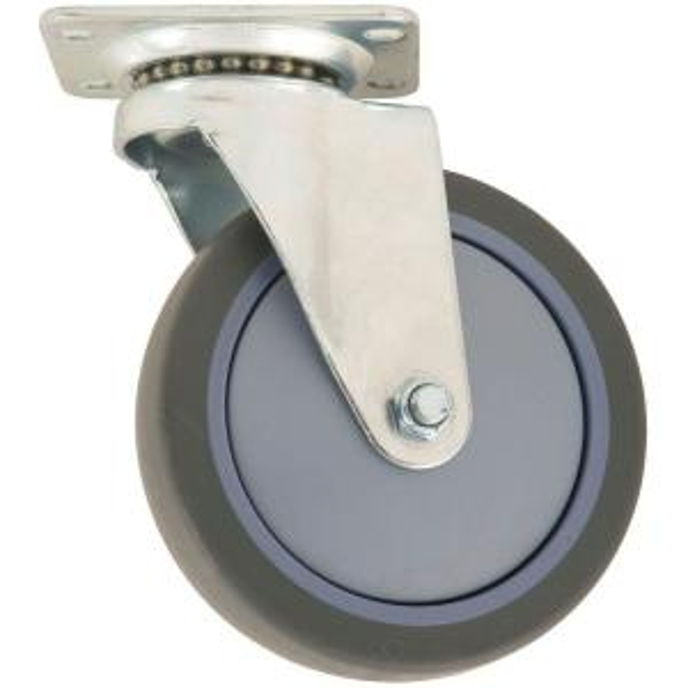 Everbilt 5 In Swivel Non Marking Rubber Caster 4032545eb