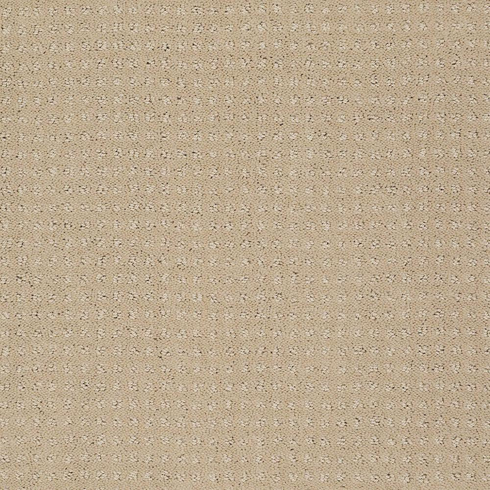 Carpet Sample - Out of Sight II - Color Honeycomb Texture 8 in. x 8 in.