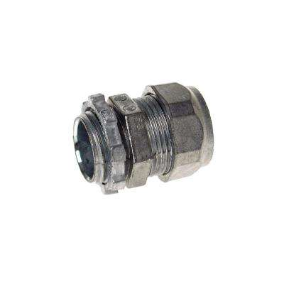 3/4 in. EMT Un-Insulated Die-Cast Zinc Compression Connector (25-Pack)