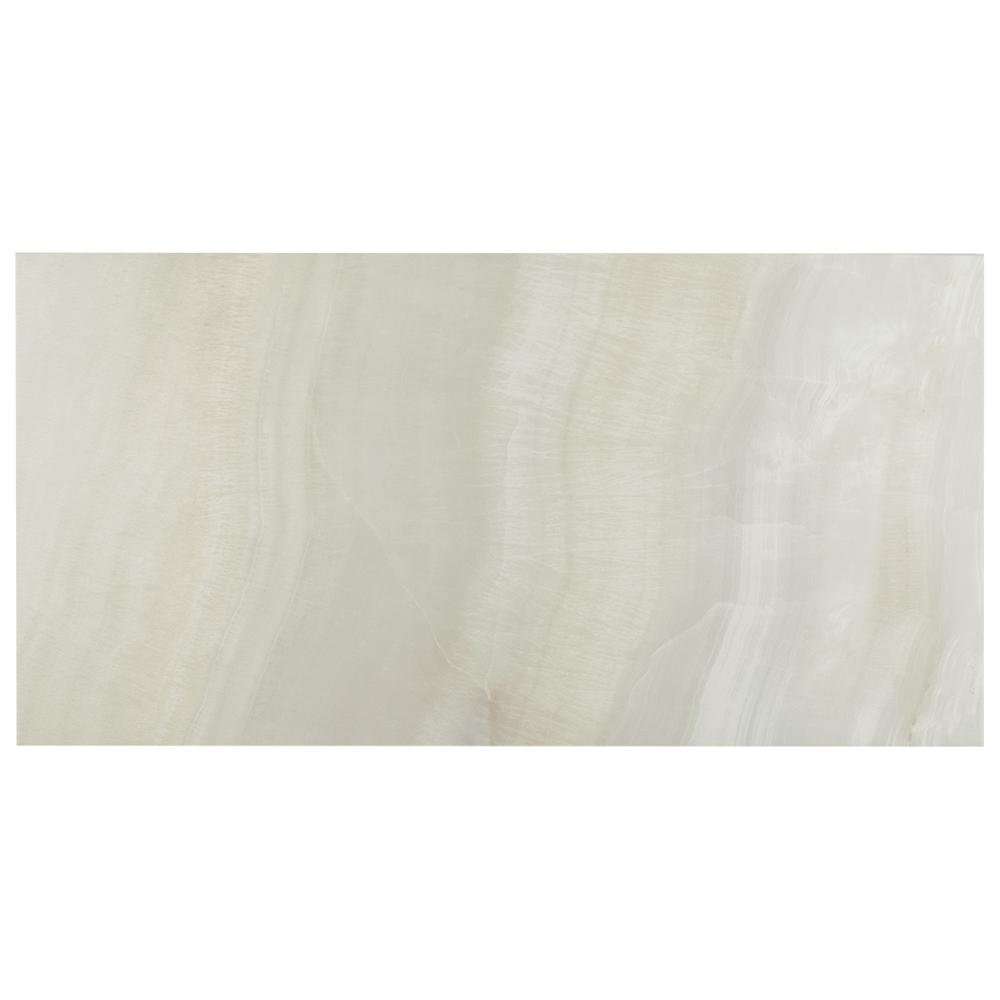 Merola Tile Dubai Pearl 12-1/2 in. x 24-1/2 in. Porcelain Floor and Wall Tile (10.96 sq. ft. / case)